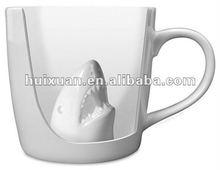 creative ceramic shark mug coffee mug Porcelain Shark Mug