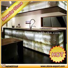 Newstar lighted onyx bar tops,onyx countertops