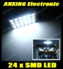 Xenon white 24SMD 5050 car led reading light,car led Dome