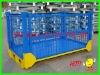 1200*1000*890mm folding stackable warehouse storage cage with the price of FOB Tianjin US $57 per unit