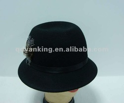 wool felt lady hat