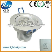3x2w Good quality Safe plastic driver AC100-240V led downlight
