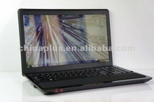 15.6 inch mini book laptop computers Intel N2800 Dual core 1.86GHZ 1G/2G/4G RAM 160G/320G/640G HDD with DVD/HDMI/wifi