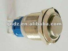 high flat round Ring self-locking push button switch(Dia.19mm)