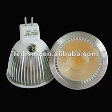 2012 newest COB 5W GU5.3 led spot light bulb 400LM led downlight lamp cob