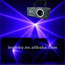 Purple party showing laser light
