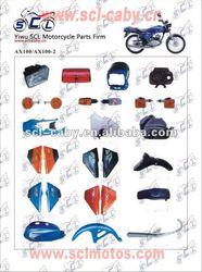 HJ125-7 brake motorcycles head light
