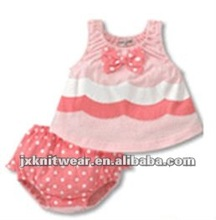 Lovely 2012 fashion design soften clothing infant clothes good quality summer baby dresses