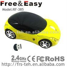 2012 best design very cute 2.4g wireless mouse car
