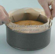 "PTFE fiberglass non-stick cake tin liner for 9"" loaf tin"
