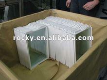 qingdao 4-12mm tempered/toughened Glass refrigerator shelf