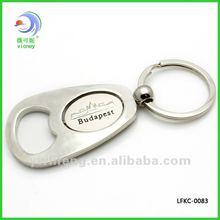 2012 New style metal keyring with bottle opener(LFKC-0083)