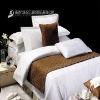 100% cotton White Jacquard Hotel Luxury Duvet cover