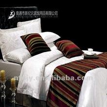Cotton White Luxury Graceful hotel bedding set