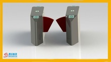 Heavy duty and fast speed flap barrier flap gate for government