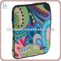 Fashion printing neoprene case for ipad mini
