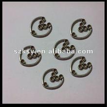 high quality garment accessories metal trims