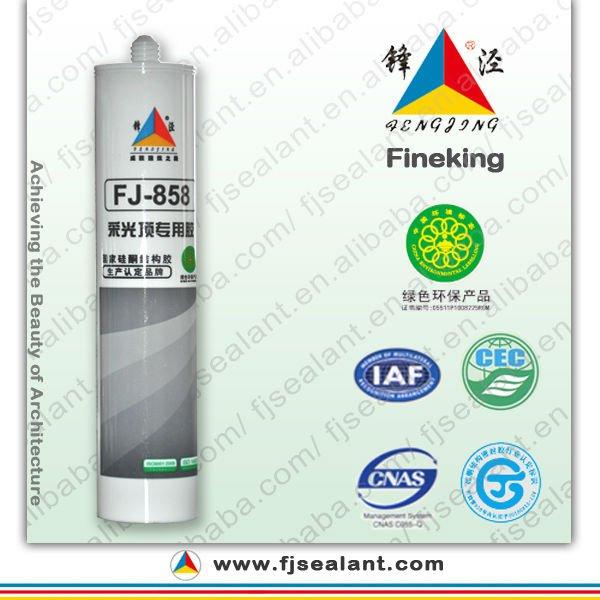Nhà sản xuất kính nổi tiếng ánh sáng mái silicone sealant tốt