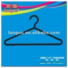 T shirt hanger pearl beads
