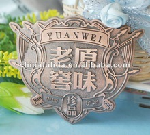 brass plate / nameplates / name tags pin