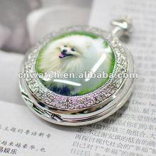 Custom Original Quartz Pocket Watch with your pet's picture
