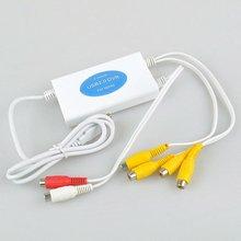 easy capture Video Audio Capture Adapter 4 Channel USB 2.0 DVR