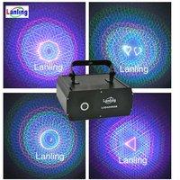 3D laser Christmas laser light show