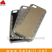 2012 Newest fashion style pc+diamond case for iphone 5 (FDA,SGS,ROHS,BVpassed)