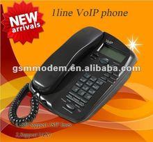 1 line IP phone/wifi sip desk phone