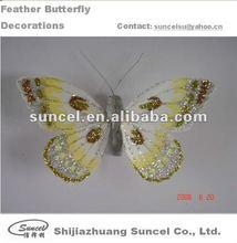 Glitter Butterfly on wire