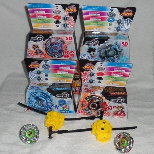 5D Metel Beyblade spin top toys