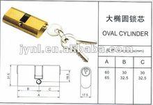 oval cylinder locks with key