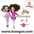 de silicio loongon reborn vinilo baby dolls athletic juego de muñeca muñeca de silicona