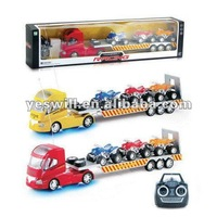 Model rc trucks and trailers with light