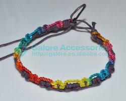 hot sale very easy make adjustable leather cord bracelet