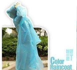 Wholesale Disposable PE Raincoat /Poncho/Rainwear