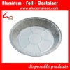 """Yiwu Factory Direct Top grade 9"""" aluminum foil Round Cake container"""