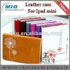 Dandelion Folio Leather Case for Ipad mini case