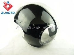"""Cafe Racer Drag Racing Viper Classic 5-3/4"""" Headlight Fairing & Windshield For Sportster Dyna W/39mm Forks FX/XL Front End"""