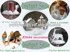 Magic Instant expanding snow, Christmas decoration snow