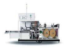 Wet paper napkin medium packaging machine