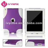 for apple's ipad 2 in 1 shock case for ipad case