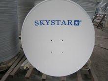 parabolic satellite antenna