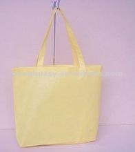 2012 Yellow fashion non woven handbag