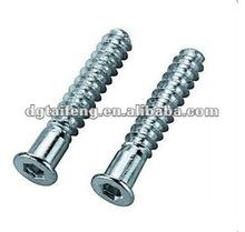 stainless steel deep hole flat tail confirmat screws
