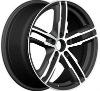 New electric 4x4 SUV car alloy wheels 5X100