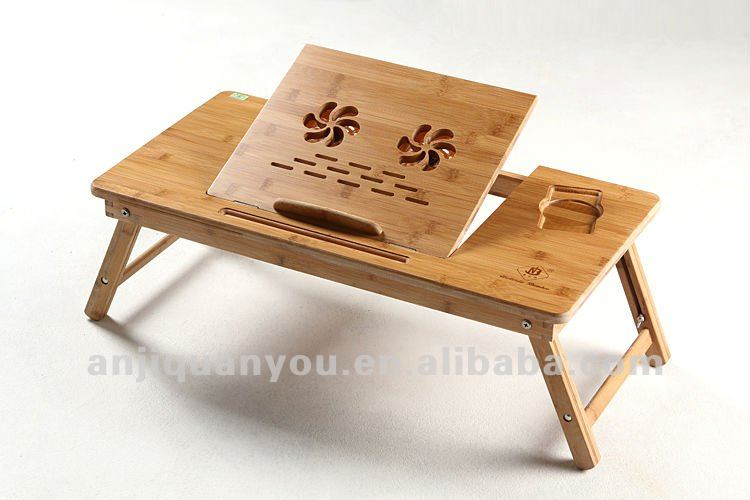 Details About Wood Computer Laptop Desk Laptop Stand Home Floor Bed