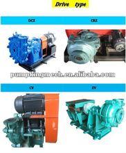 DK High quality high-abriasive,corrosion resisting slurry pump