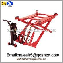 2000kg 1000mm Hydraulic scissor car lift/Cheap car ramp/Portable movable car hoist/Garage equipment for car washing QDSH-S2010