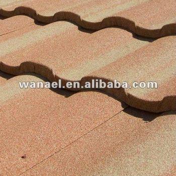 Steel roof shingles